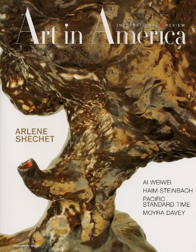 [Image: Art in America, January 2012]