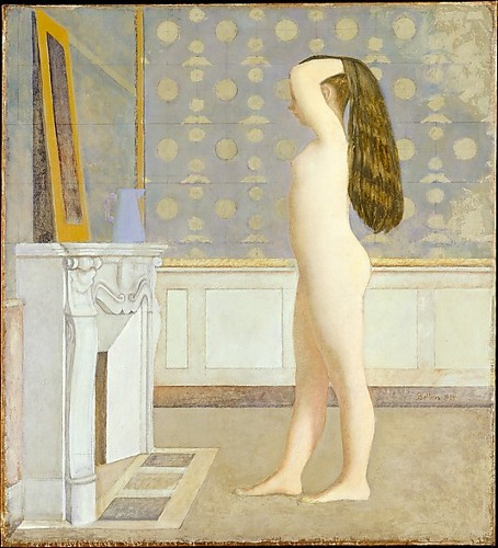 [Image: Balthus, Nude Before a Mirror, 1955, oil on canvas, Metropolitan Museum of Art, Robert Lehman Collection, 1975 []
