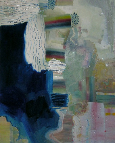 [Image: Josette Urso, Blue Cloud, 2012, oil on panel, 30 x 24 inches]