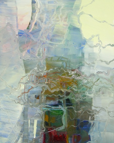 [Image: Josette Urso, Snow Through, 2011, oil on panel, 20 x 16 inches]
