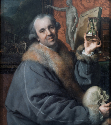 [Image: Johann Zoffany, Self-portrait, 1778, oil on panel, Uffizi Gallery, Florence/The Bridgeman Art Library]