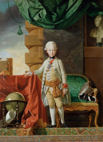 [Image: Johan Zoffany, Archduke Francis, 1775, oil on canvas, Kunsthistorisches Museum, Vienna, courtesy of the Kunsthistorisches Museum, Vienna and the Yale Center for British Art]
