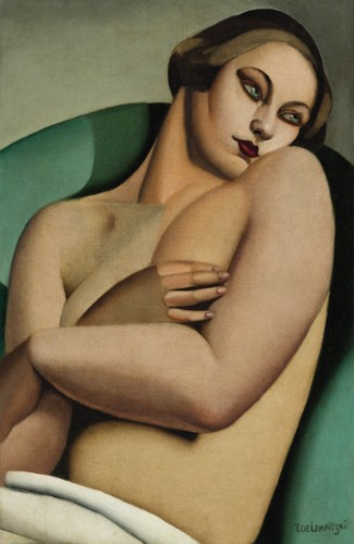 [Image: Tamara de Lempicka, Nu adossé I, 1925, est. $3/5 million, Sotheby's New York, Impressionist & Modern Art Evening Sale, May 2, 2012]