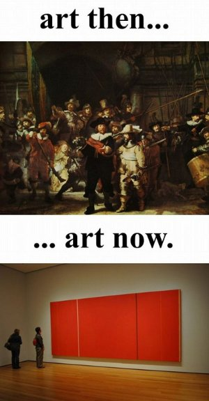 [Image: The Internet attempts art appreciation.]