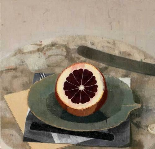 [Image: Susan Jane Walp, Heart of Winter Blood Orange, 2010, oil on linen, 7 7/8 x 8 inches]