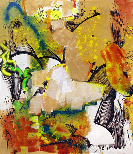 [Image: Walter Darby Bannard, Saratoga, 2013, acrylic on canvas]