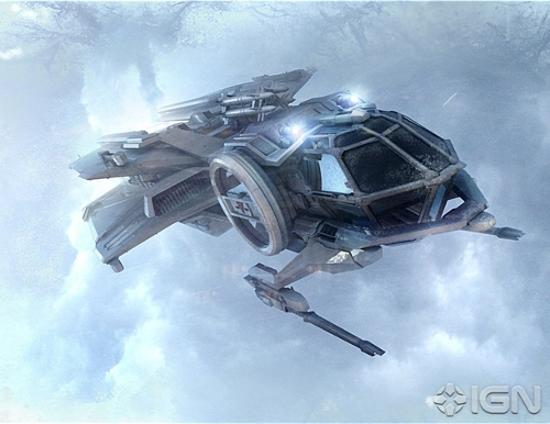 [Image: The Aurora, from Star Citizen. ]