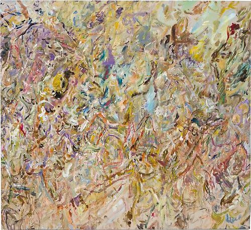 [Image: Larry Poons, Book of Minutes, 2013, acrylic on canvas, 64 x 70 1/8 inches, courtesy of Danese Corey]
