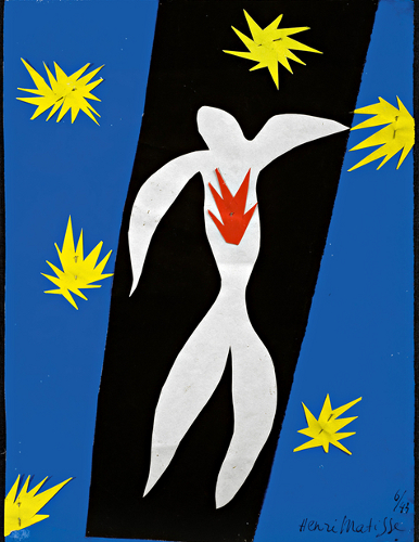 [Image: Henri Matisse: The Fall of Icarus (1947). Henri Matisse/DACS 2014]