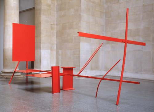 [Image: Sir Anthony Caro, Early One Morning, 1962, painted steel and aluminium, presented by the Contemporary Art Society 1965, © Anthony Caro/Barford Sculptures Ltd, ]
