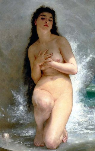 [Image: William Bouguereau, La Perle, 1894]