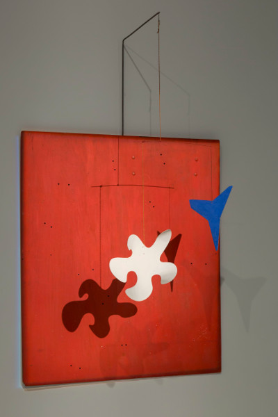[Image: Alexander Calder, Red Panel, c. 1963, Calder Foundation, New York]