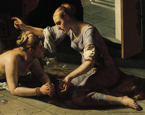 [Image: Guido Cagnacci, Repentant Magdalene, ca. 1660, oil on canvas, Norton Simon Museum, Pasadena (detail)]