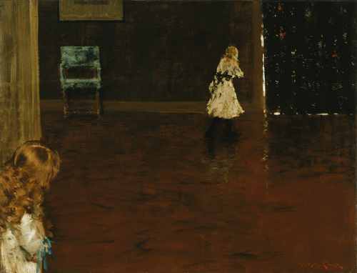 [Image: William Merritt Chase, Hide and Seek, 1888, The Phillips Collection]