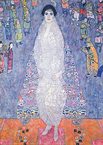 [Image: Gustav Klimt, Portrait of Elisabeth Lederer, 1914-16, oil on canvas, private collection]