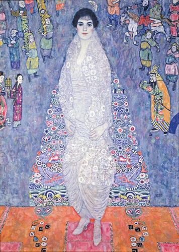 [Image: Gustav Klimt, Portrait of Elisabeth Lederer, 1914-16, oil on canvas, private collection]