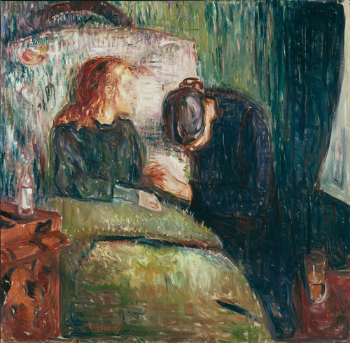 [Image: Edvard Munch, The Sick Child, 1907, Oil on canvas, Tate Modern]