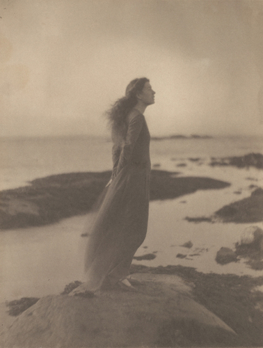 [Image: Clarence H. White, American, 1871–1925, The Sea [Rose Pastor Stokes, Caritas Island, Connecticut], 1909, printed after 1917, palladium print, the Clarence H. White Collection, assembled and organized by Professor Clarence H. White Jr., and given in memory of Lewis F. White, Dr. Maynard P. White Sr., and Clarence H. White Jr., the sons of Clarence H. White Sr. and Jane Felix White]