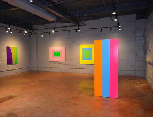 [Image: Installation view, Ann Walsh at Alexander/Heath Contemporary, 2015]